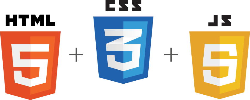 Three element of Front-end: HTML, CSS, Java Script